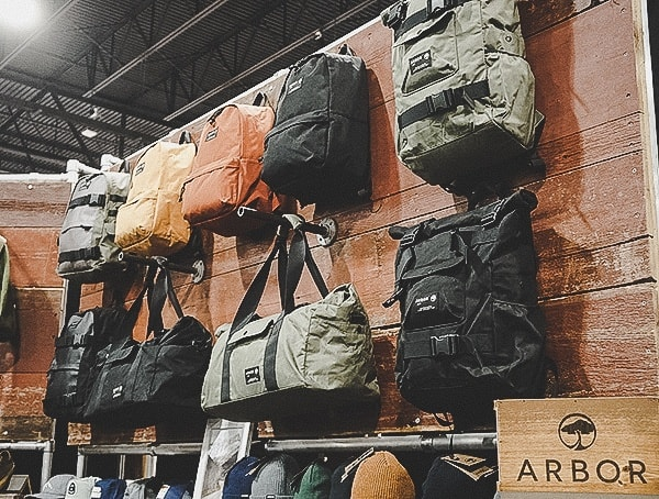 Arbor Mens Backpacks Outdoor Retailer Snow Show 2019 Denver Colorado