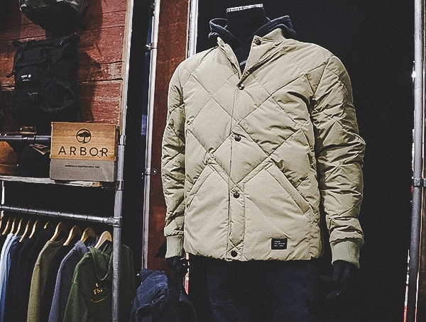 Arbor Mens Clothing Outwear