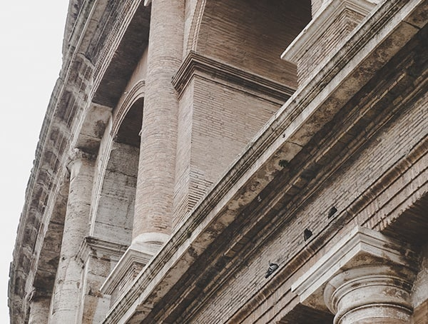Arch Close Up Stone Detail Colosseum