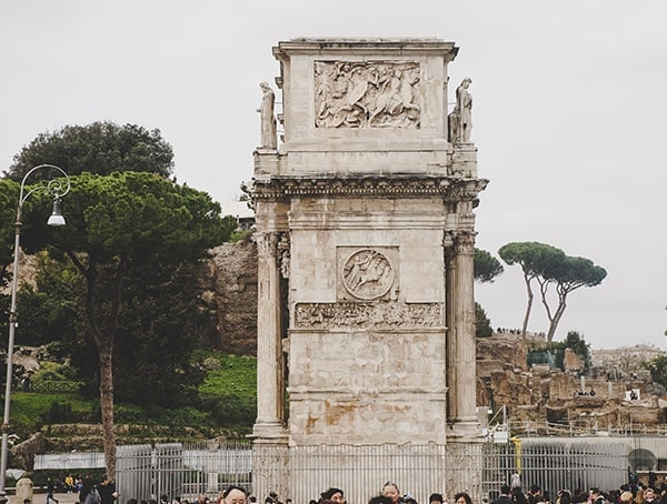Arch Of Constantine Side View