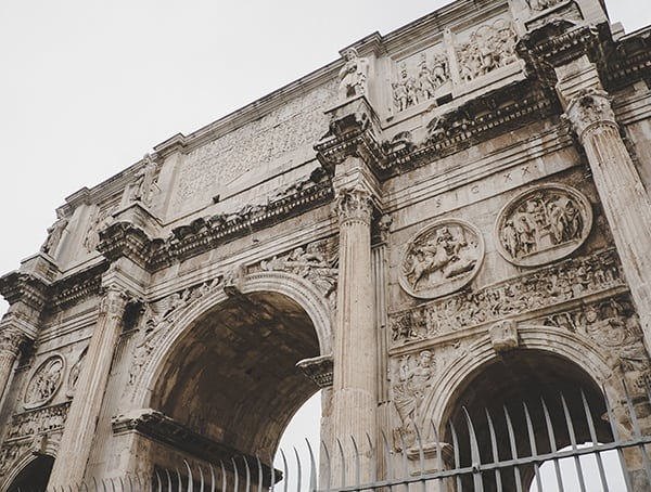 Arch Of Constantine Up Close