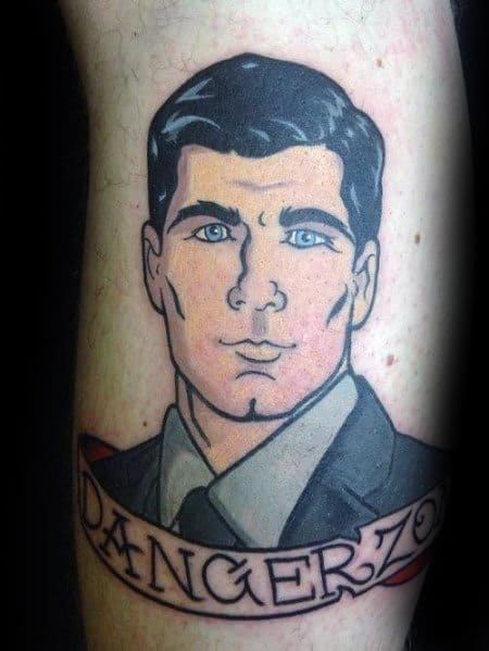 Archer Themed Tattoo Ideas For Men
