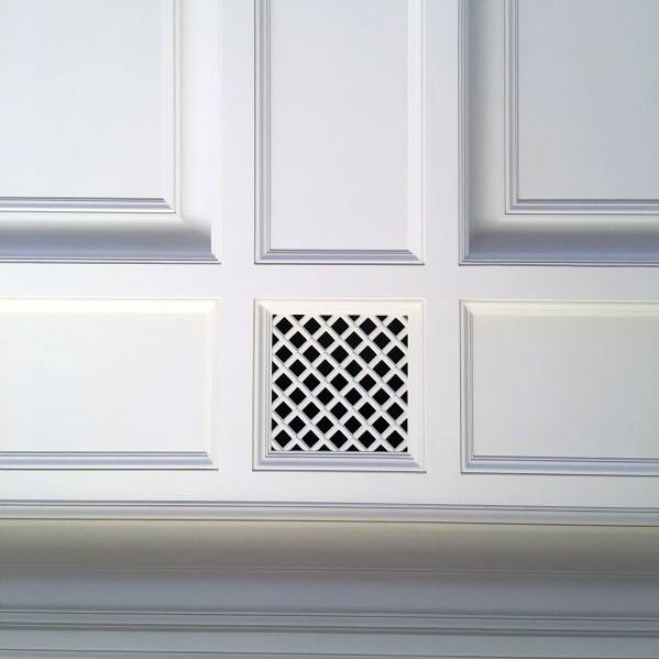 Architecture Coffered Ceiling Ideas Duct Vent Detail