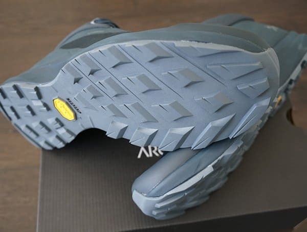 Arcteryx Aerios Fl Mid Gtx Shoes For Men With Vibram Megagrip Outsole