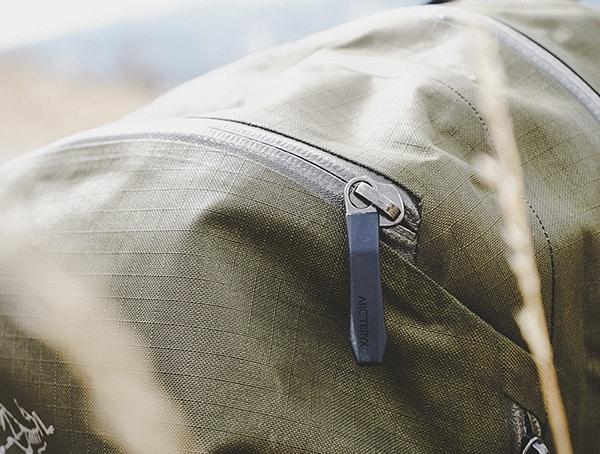 Arcteryx Granville 16 Zip Backpack Review Zipper Detail