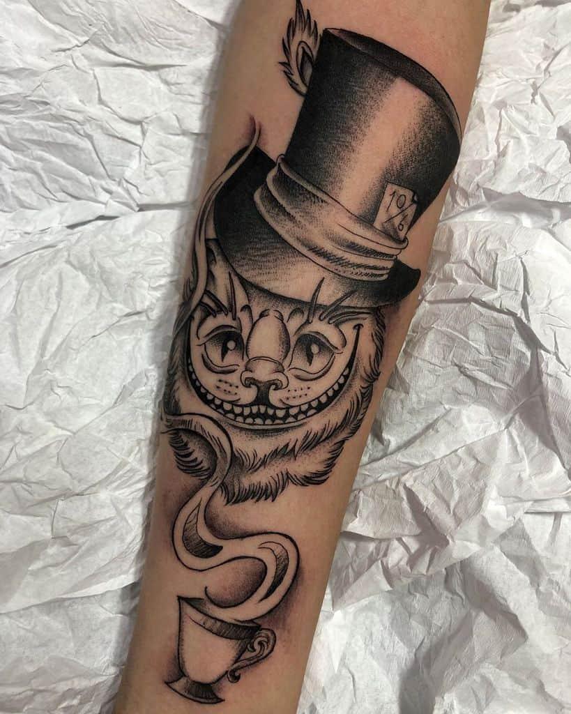 arm alice in wonderland tattoos phernandu
