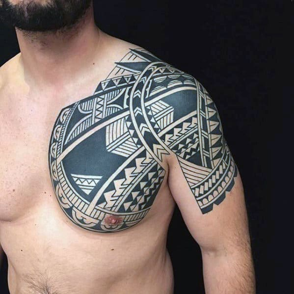 50 Polynesian Arm Tattoo Designs For Men