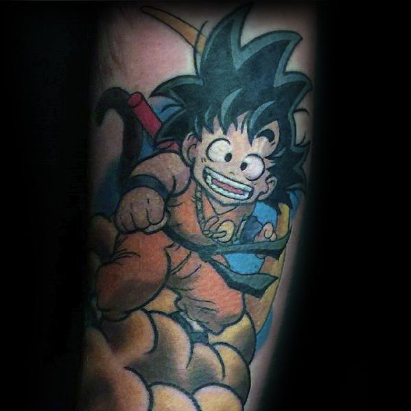 Arm Anime Tattoo Ideas On Guys