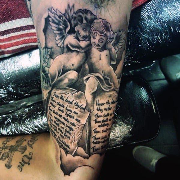 Arm Bicep Tattoos For Men