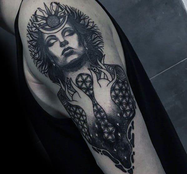 Arm Consciousness Tattoos For Gentlemen