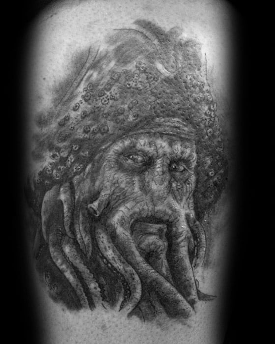 Arm Davy Jones Mens Tattoo Ideas