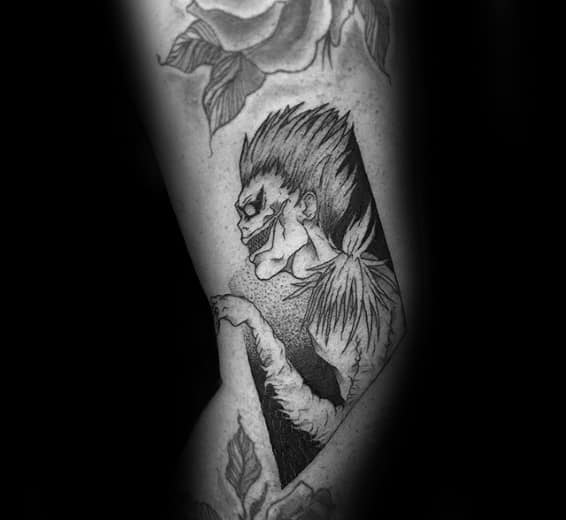 Death note tattoo design
