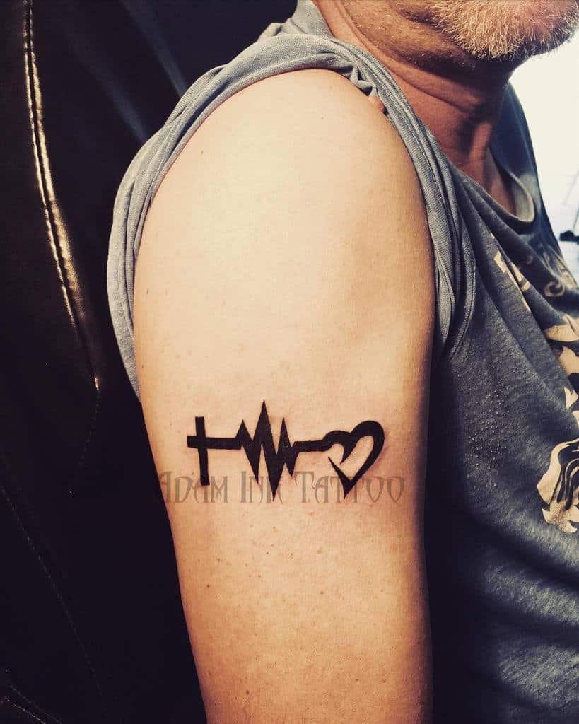 arm faith hope love tattoos adaminktattooandsilver