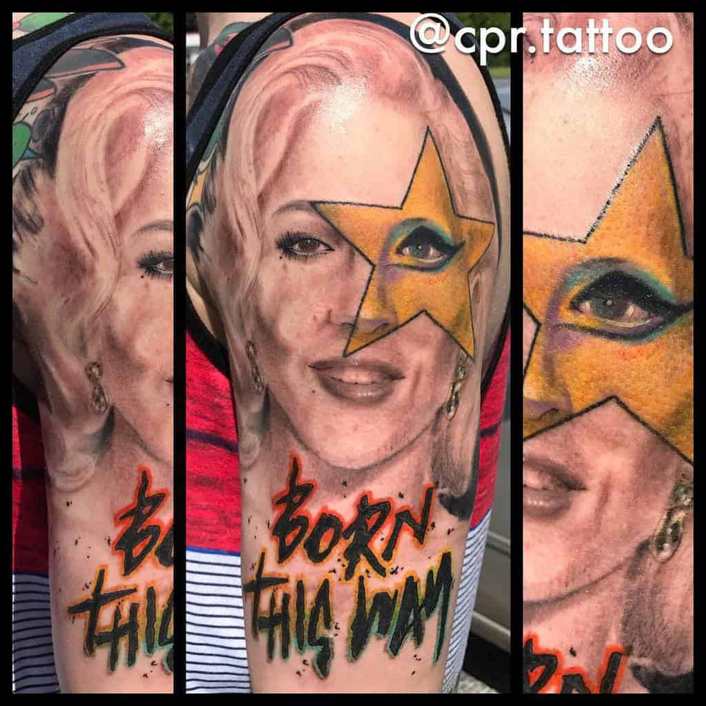 Arm Forearm Born This Way Tattoos Cpr Tattoo