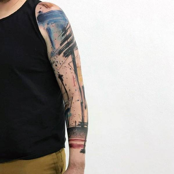 Arm Guys Artsy Tattoo Inspiration