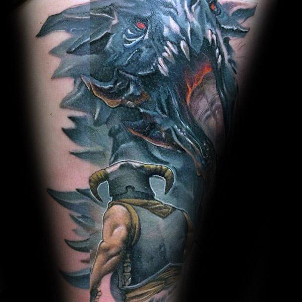 Arm Guys Skyrim Tattoos