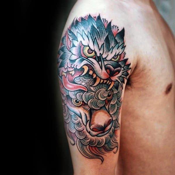 Arm Guys Tattoo Ideas Sheep Designs
