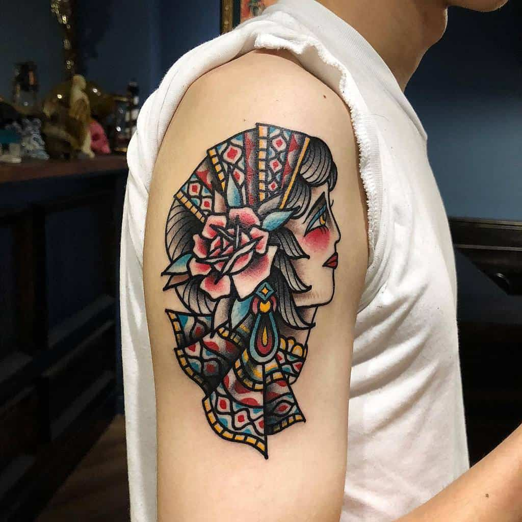 arm gypsy rose tattoos edko0102