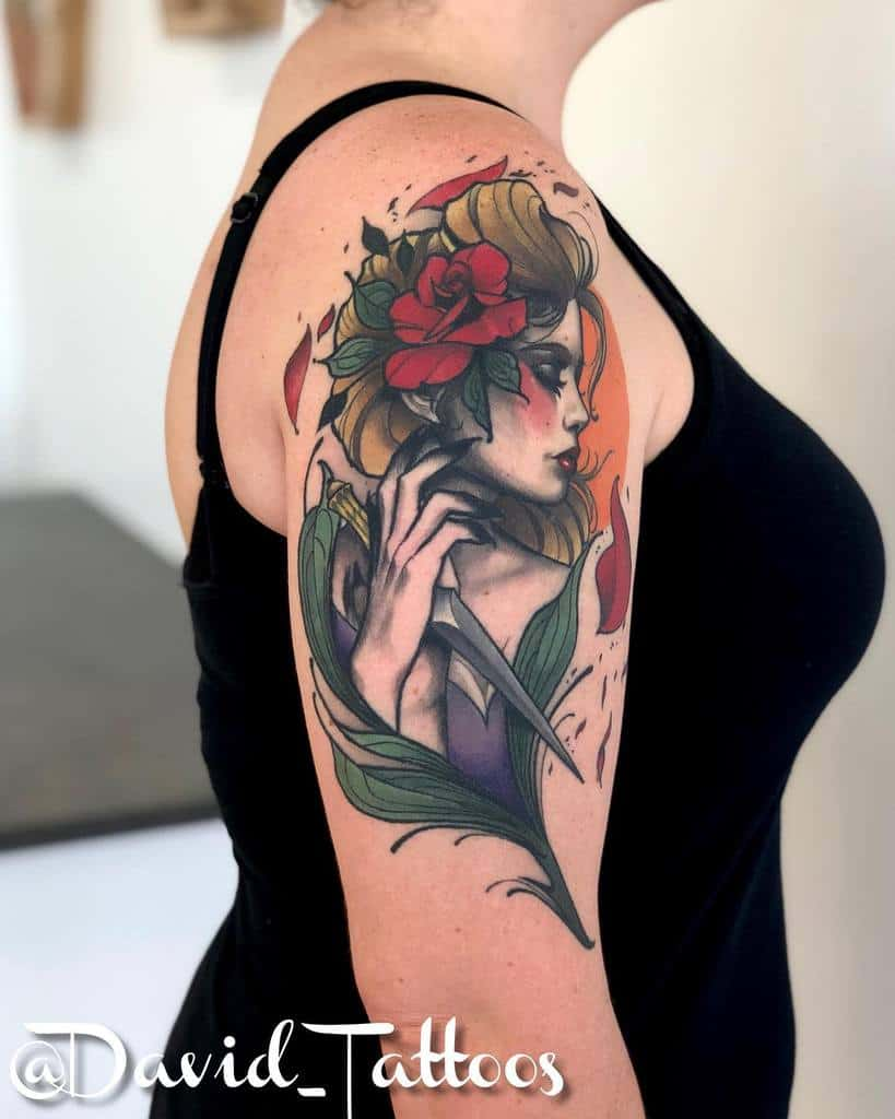 arm gypsy rose tattoos elatedco
