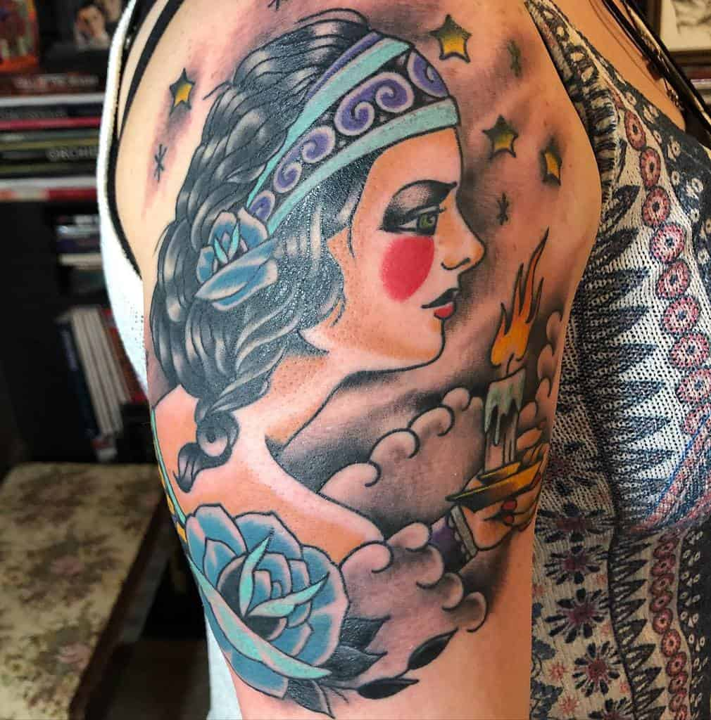 arm gypsy rose tattoos ericbrocious