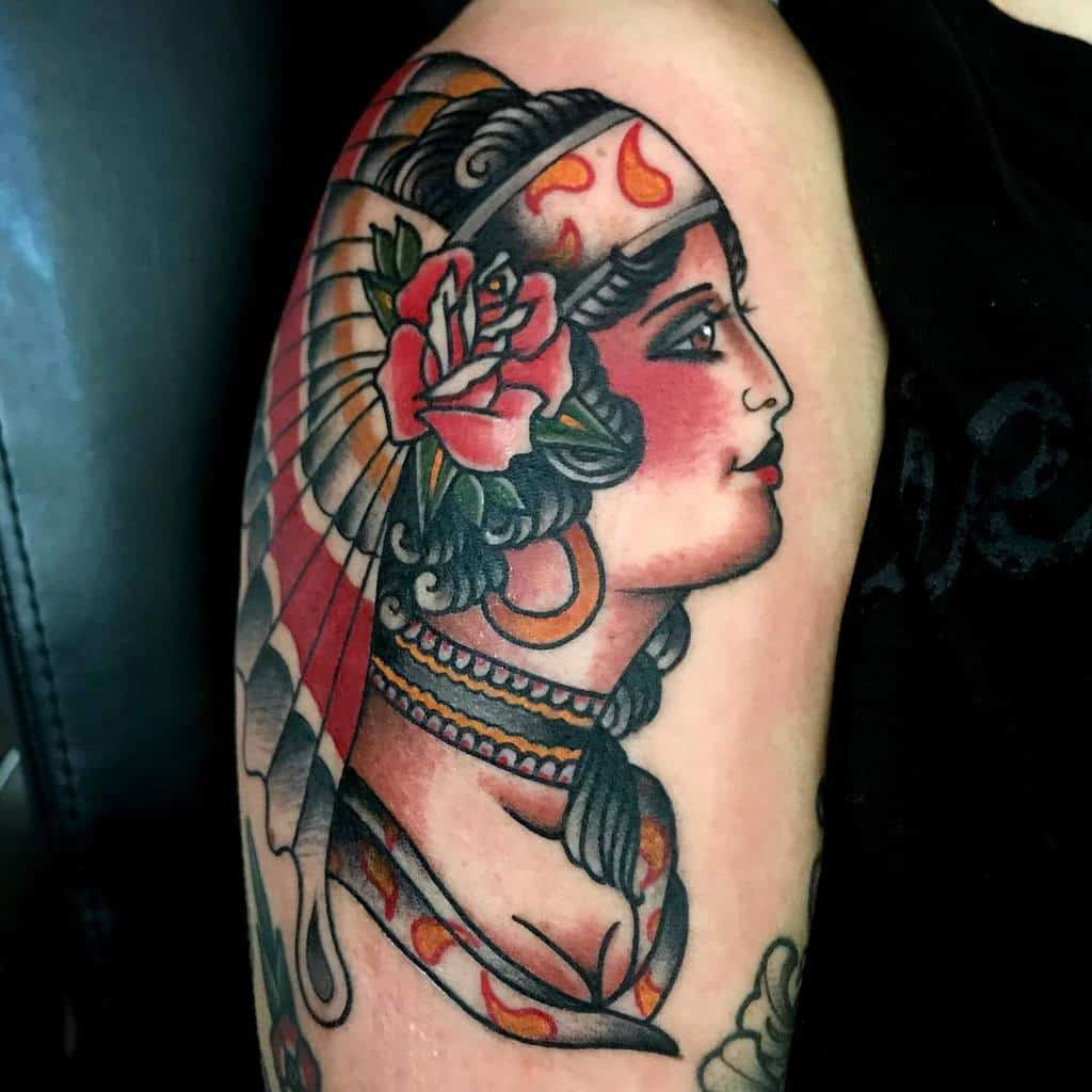 arm gypsy rose tattoos honestcarp