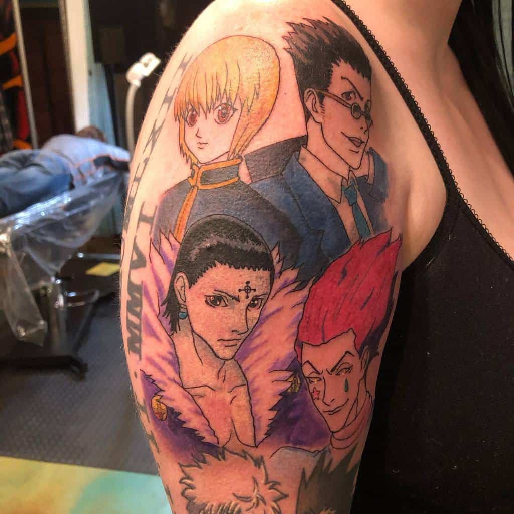 Top 73 Best Hunter X Hunter Tattoo Ideas 2020 Inspiration Guide Xd it looks like a parody of black butler/kuroshitsuji. best hunter x hunter tattoo ideas