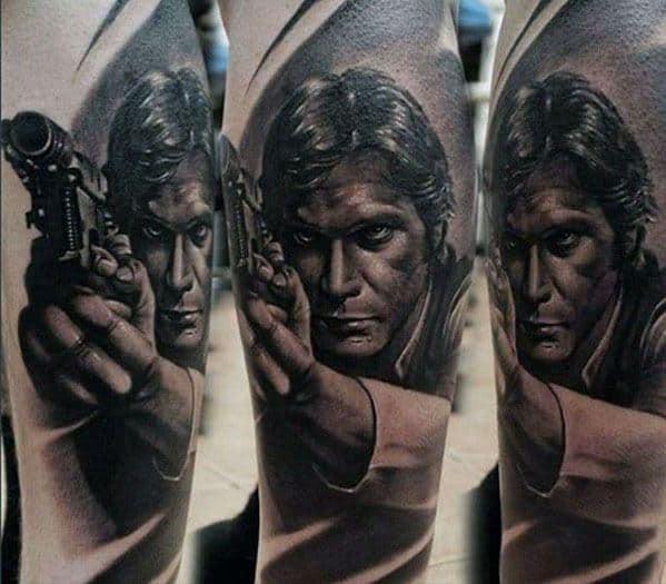 Arm Incredible Han Solo Tattoos For Men