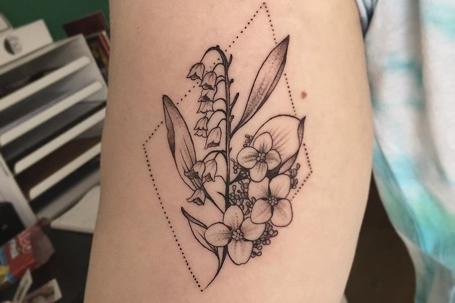 Arm Lily Of The Valley Tattoo Jimbob966 Fi