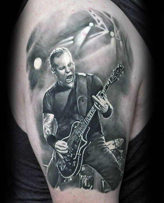 Arm Masculine Metallica Tattoos For Men