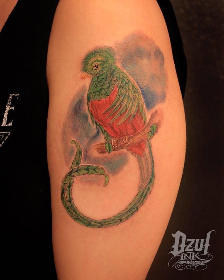 Arm Quetzal Tattoos Dzulinklounge