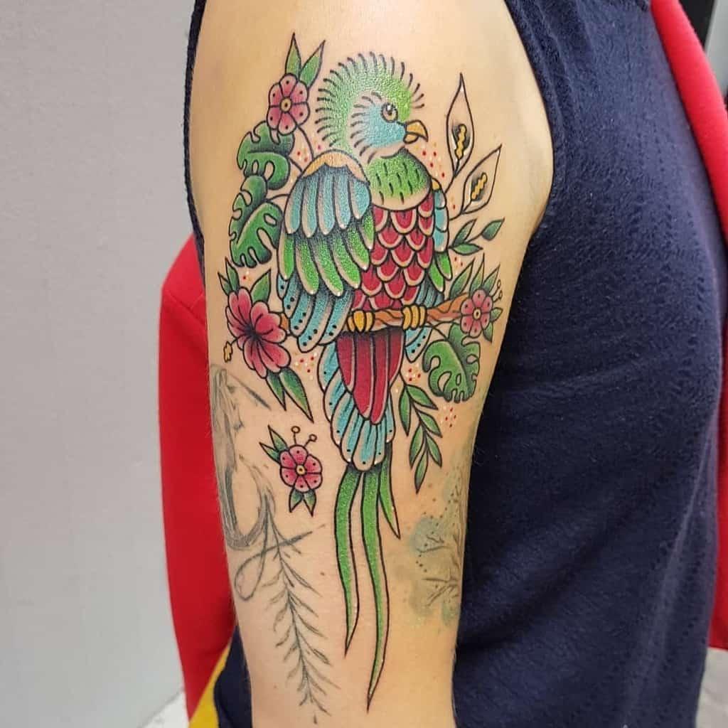 Arm Quetzal Tattoos Joanna Ec Tattoo