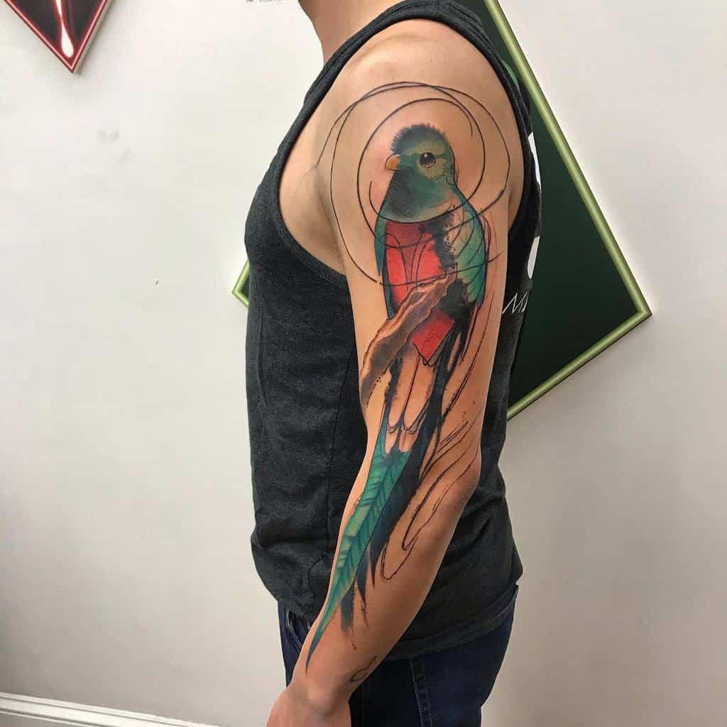Arm Quetzal Tattoos Rizzie Tat2