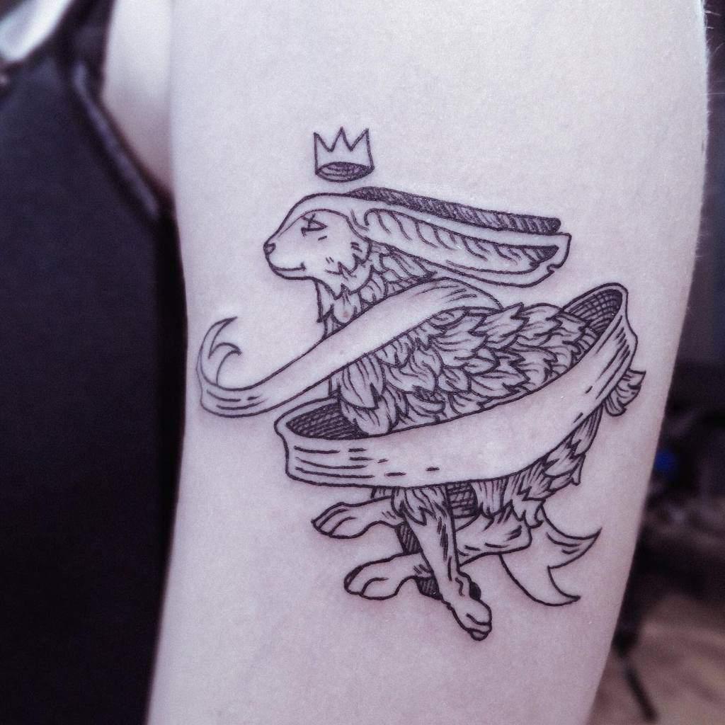 Arm Rabbit Tattoos Amlgm Tattoo
