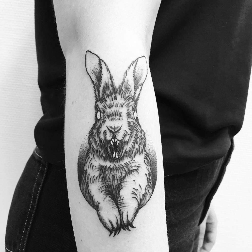 Arm Rabbit Tattoos Jonna Witchcraftstattoos