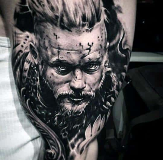 Arm Ragnar Tattoo Ideas On Guys