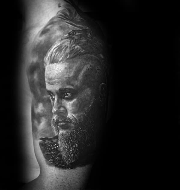 Arm Ragnar Tattoos Guys