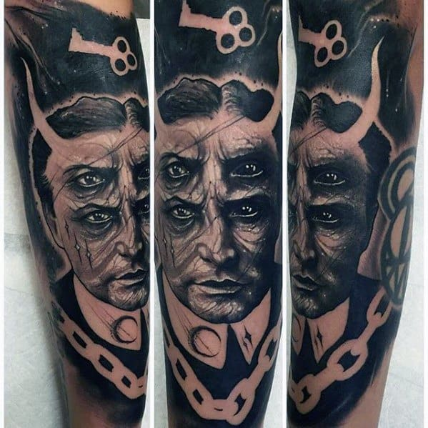 Arm Sleeve Magician Tattoo Ideas For Males