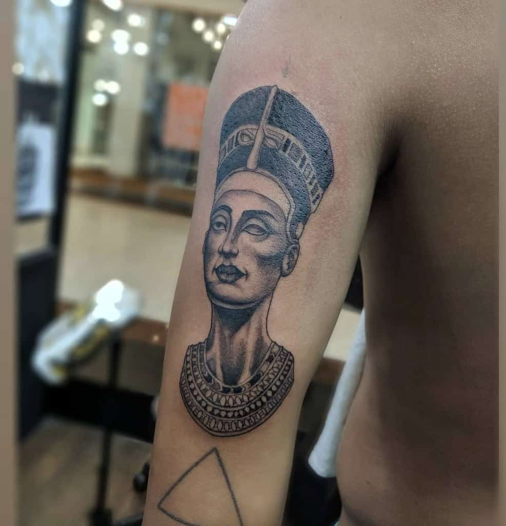 Arm Sleeve Nefertiti Tattoos Gustavo Tattoo