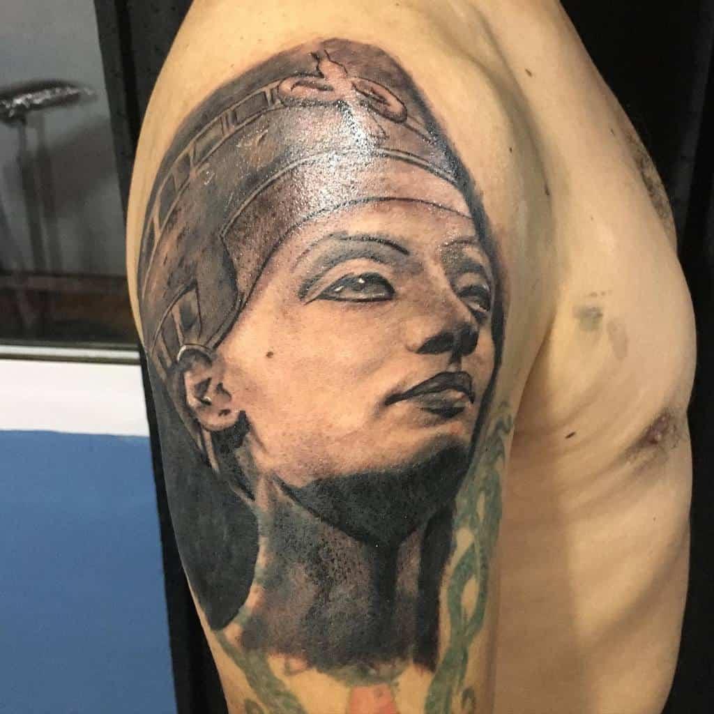 Arm Sleeve Nefertiti Tattoos Quinterosmatias