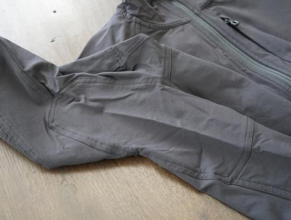 Arm Stiching Details Mens Beyond Clothing Velox Light Softshell