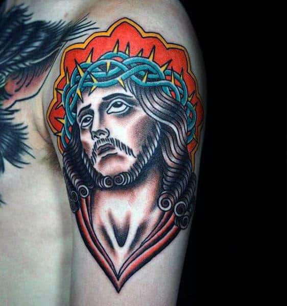 arm-traditional-jesus-mens-tattoo
