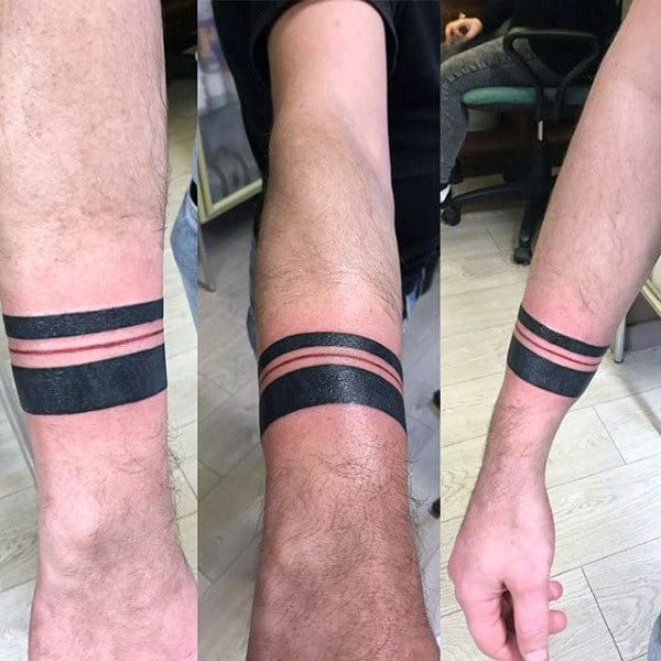 Armband Guys Line Designs For Tattoos