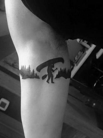 Armband Mens Cool Canoe Tattoo Ideas
