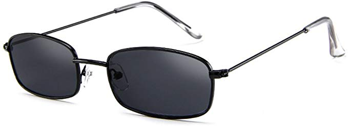 armear small metal frame square sunglasses non polarized lens