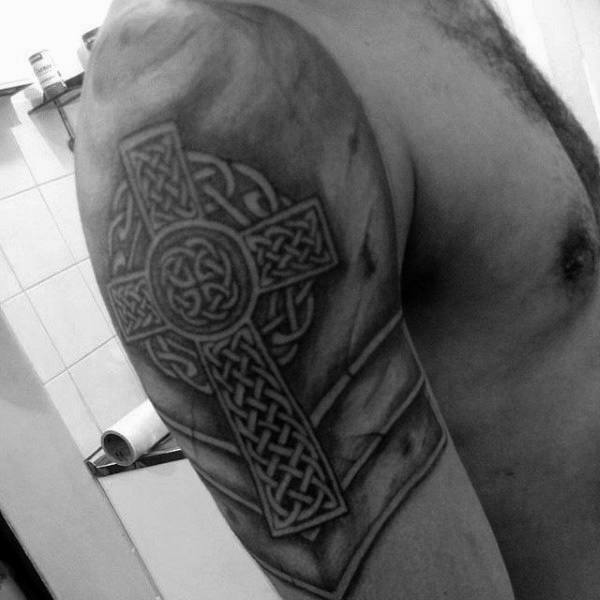 Top 93 Celtic Cross Tattoo Ideas 2020 Inspiration Guide