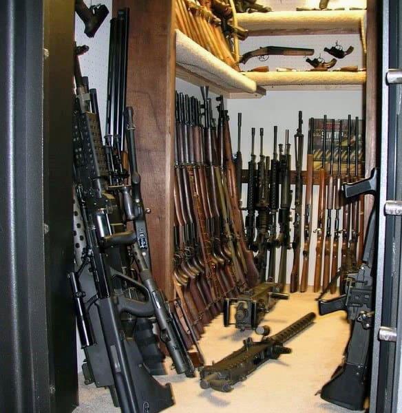 Armory Gun Room Safe Design