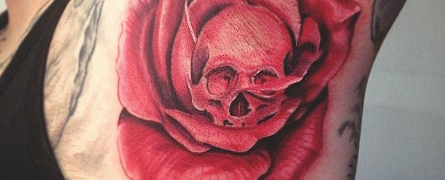 Armpit Tattoo Designs For Men