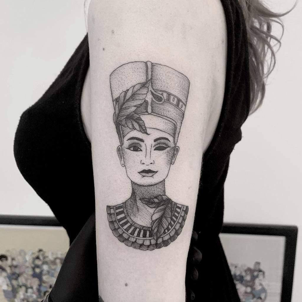 Armsleeve Nefertiti Tattoos Bold.belle
