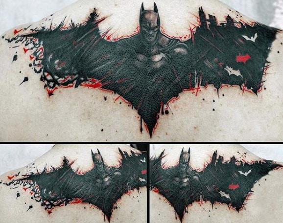 50 Batman Symbol Tattoo Designs For Men Superhero Ink Ideas