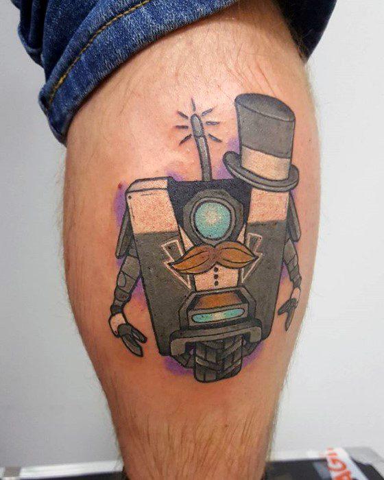 Artistic Male Borderlands Tattoo Ideas
